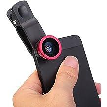 Sungpunet, kit di lenti universali 3in 1, Fish eye, macro con clip, per iPhone, Samsung Galaxy, HTC e la maggior parte degli smartphone