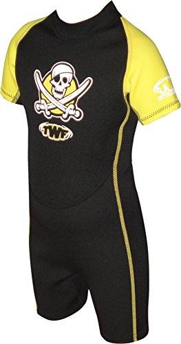 TWF Pirate - Traje para deportes acuáticos, amarillo, 3-4 Year (Manufacturer size: K1)
