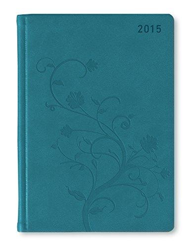 Aqua-tabletten (Ladytimer Deluxe Aqua 2015 - Taschenplaner/Taschenkalender A6 - Tucson Einband - Motivprägung Floral - Weekly - 192 Seiten)