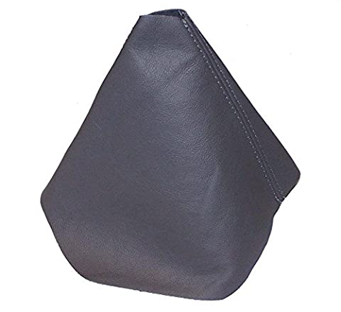 FOR VOLKSWAGEN NEW BEETLE 1997-2011 GREY LEATHER GEAR GAITER GREY