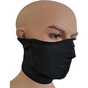 normani Thermo Kälteschutzmaske Gesichtsmaske mit weicher Fleece-Innenseite