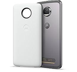 Moto Power Pack (Adecuado para Todos los Smartphones Moto Z), Color Blanco