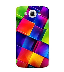 For Samsung Galaxy Mega 5.8 I9150 :: Samsung Galaxy Mega Duos I9152 box pattern ( box pattern, pattern, square, box ) Printed Designer Back Case Cover By CHAPLOOS