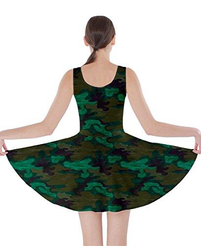 CowCow Damen Kleid Grün Hellgrün Grün - Grün