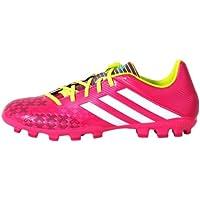 adidas Predator LZ XTRX SG - Botas de fútbol para hombre Negro y rosa Talla:9.0 UK - 43.1/3 EU 7P9zV