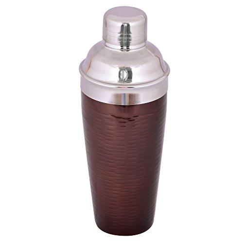 Kosma Edelstahl Premium Cocktail Shaker - Mocktail Shaker in glänzendem Kupfer Farbe - 750 ml Cocktail Shaker