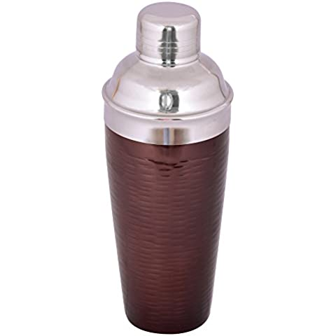 Kosma–Coctelera de acero inoxidable (Deluxe- 750ml–(efecto de las burbujas), acero inoxidable, 750ml rice