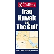 Iraq, Kuwait and The Gulf: Paper in Tube (Map in a Tube)
