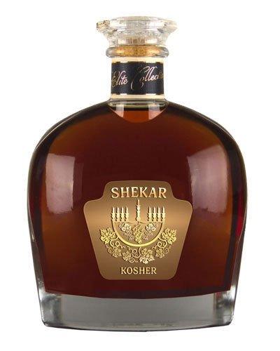 Brandy Shekar Kosher alc.40% Weinbrand (0,5 l)