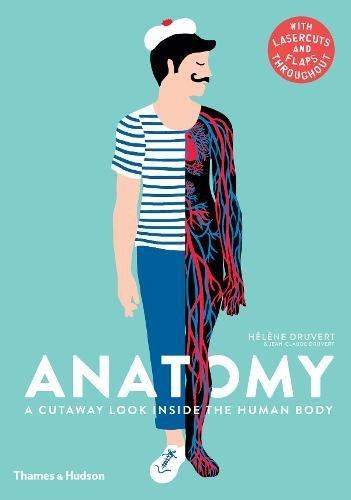 Anatomy: A Cutaway Look Inside the Human Body por Hélène  Druvert