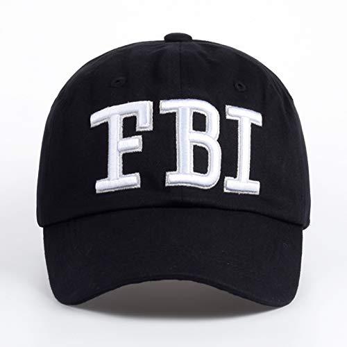 ZHENGBINGF Neue hochwertige männliche Hutmode Männer und Frauen Hut Baseballmütze einstellbare Hut Erwachsenen Trucker Hut Kappe Stickerei Kappe, schwarz