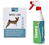 OptiPet Spot On 6x1,5ml Hund + ENVIRA Flohspray 500ml