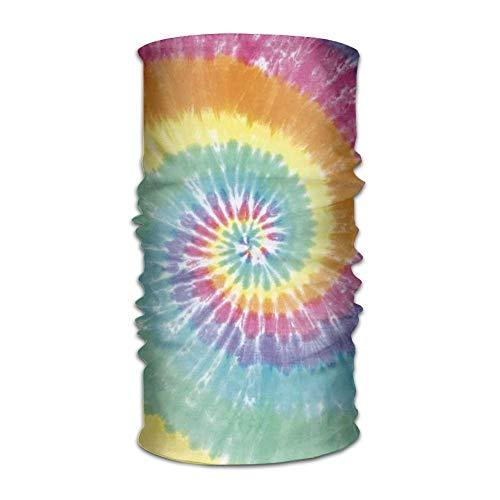 Tie Dye Print Multifunctional Magic Headwear 12-in-1