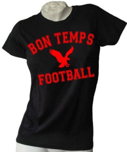 True Blood Inspiriert Bon Temps woman T-shirt, Größe S, Schwarz -