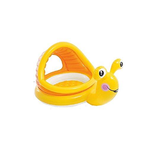 Schnecke - Babypool / Baby Pool / ca. 145 x 102 x 74 cm - Babypool Baby Pool Planschbecken Kinderpool Pool Kinderplanschbecken Schwimmbecken Baby-Pool Planschbecken