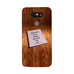 Skintice Designer Back Cover with direct 3D sublimation printing for LG G5