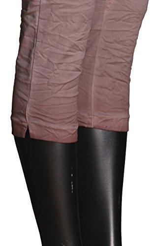 """Jeans pour femme coupe boyfriend aladin harem pantalon chino baggy taille basse boyfriendjeans boyfriendhose batik look """"destroyed"""" Rose - Rose"""