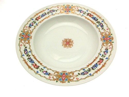 Limoges Raynaud Assiette à soupe Motif Floral
