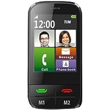 Teléfono móvil táctil fácil uso para personas mayores