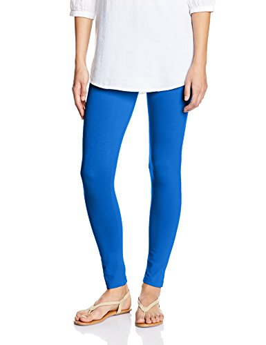Myx Women's Cotton Stretch Leggings (AW16LEG01F_Ink Blue_Large)