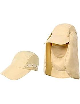 Cappello Da Sole All'aperto Cappello A Tesa Larga Sole Del Cappello Di Protezione Unisex Protezione Di Pesca Di...