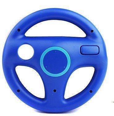 Romote Fashion Racing Spiel-Lenkrad für Nintendo Wii Mario Kart (blau)