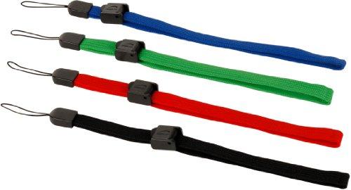 Preisvergleich Produktbild Speedlink Tie Handschlaufen Set (vier Stück) schwarz grün rot blau