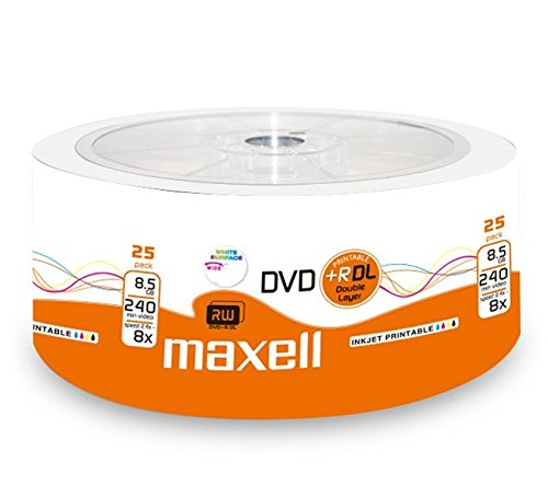 Maxell 276078 DVD + R 8.5 GB DL Double Layer