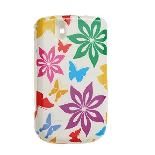 DealMux Kleurrijke Print Rubberized Plastic behuizing Cover voor BlackBerry 9630 9630 Cover