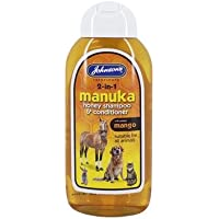 Johnsons Vet Manuka Honey 2-In-1 Shampoo, 400 ml