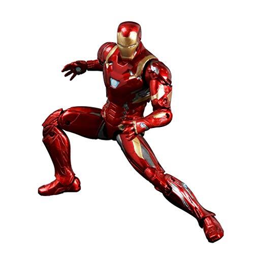 GYH Iron Man Action Figure - 6.7 '' Marvel Avengers Toy Model Superhero, PVC