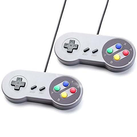 2x SNES Controller / Joypad / Gamepad für Super Nintendo SNES Konsole [Windows] …