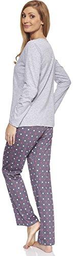 Cornette Damen Schlafanzug CR-655-So-Cold Melange (05)