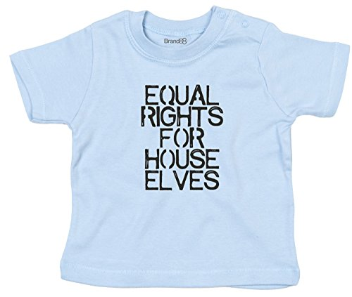 Equal Rights For House Elves, Baby T-Shirt - Hellblau 3-6 Monat