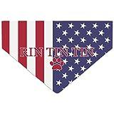 Hunde-Halstuch, personalisierbar, Internationale Flagge, mit Namen und Symbol, personalisierbar
