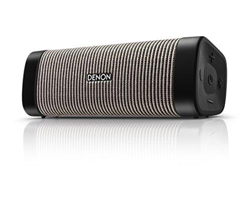 Denon Mini DSB-150BT Negro, Gris - Altavoces portátiles (4 cm, Inalámbrico, Bluetooth/3.5...