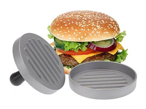 Hamburgerpresse - Aluminium - Burgerpresse - Hamburger Presse - Hamburgerformer - Küchenhelfer