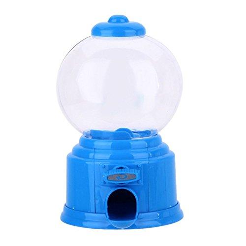 (Queenbox Süße Mini Süße Candy Gumball Machine Gelee-Bohnen-Kaugummi-Maschine Snackspender Kinder Spielzeug Kinder Geschenk)