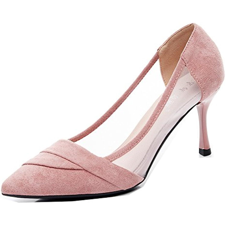Aisun Aisun Aisun Femme Belle Kitten-Heel Peu Profonde Cheville  s Mariage Escarpins - B07FSR2JL2 - c90ccb