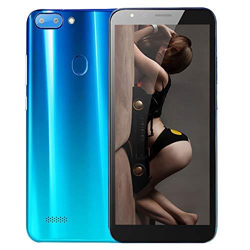 Smartphone 5.5''Ultrathin Android5.1 Octa-Core 512MB 4G 3G / GSM-WLAN-Dual-SIM-SIM-SIM-PORTALENT (Blau)