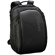 WILSON Sporting Goods Federer DNA 2018 - Mochila, Color Negro