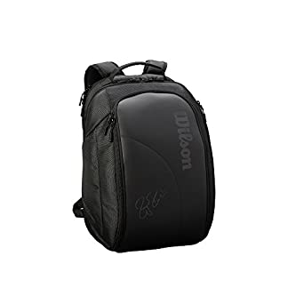 Wilson Sporting Goods Federer DNA 2018 – Mochila, Color Negro