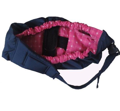 Aolevia Porte-Bébé En Coton Sac de Portage & Echarpe de Portage Pour Protéger Votre Bébé-Rose