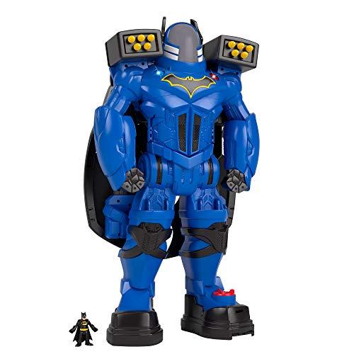 Fisher-Price FGF37 - Imaginext DC Super Friends Batbot, Kleinkind Spielzeug ab 3 Jahren (Dc-spielzeug)