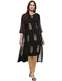 Janasya Women's Polyester Kurta