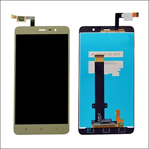 Generic Xiaomi Redmi Note 3 LCD Display With Touch Screen Digitizer Glass Combo,Gold