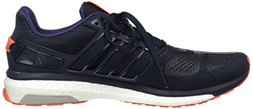 adidas Energy Boost 3, Chaussures de Running Compétition homme Bleu (Night Navy/midnight Grey/energy Orange)