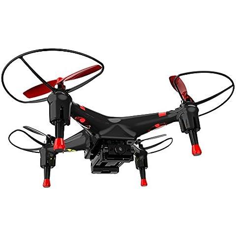 Silverlit 2,4 GHz de 4 canales giro-estabilizado Spy Drone Quadcopter del control de radio con la cámara (multicolor)