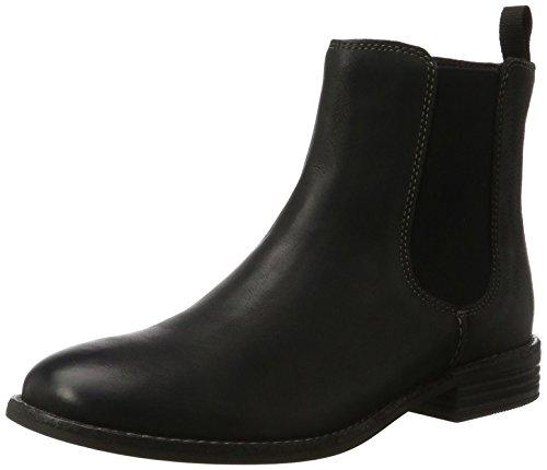 Chelsea Damen Schuh (Clarks Damen Maypearl Nala Chelsea Boots, Schwarz (Black), 40 EU)