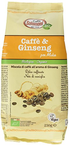 Salomoni Caffè e Ginseng - 250 gr